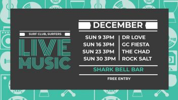 Surfers Paradise SLSC December Live Music